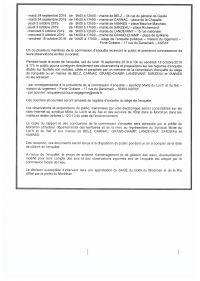 Avis d'enquête publique sur le projet de SAGE du Golfe du Morbihan et de la Ria d'Etel